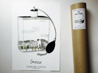 AFFICHE – GRASSE (A3)