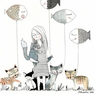 cinq chats+