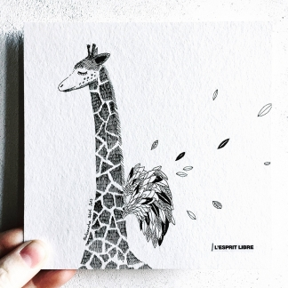 ILLUSTRATION – GIRAFE