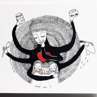 ILLUSTRATION – MAMAN