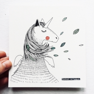 ILLUSTRATION – LICORNE