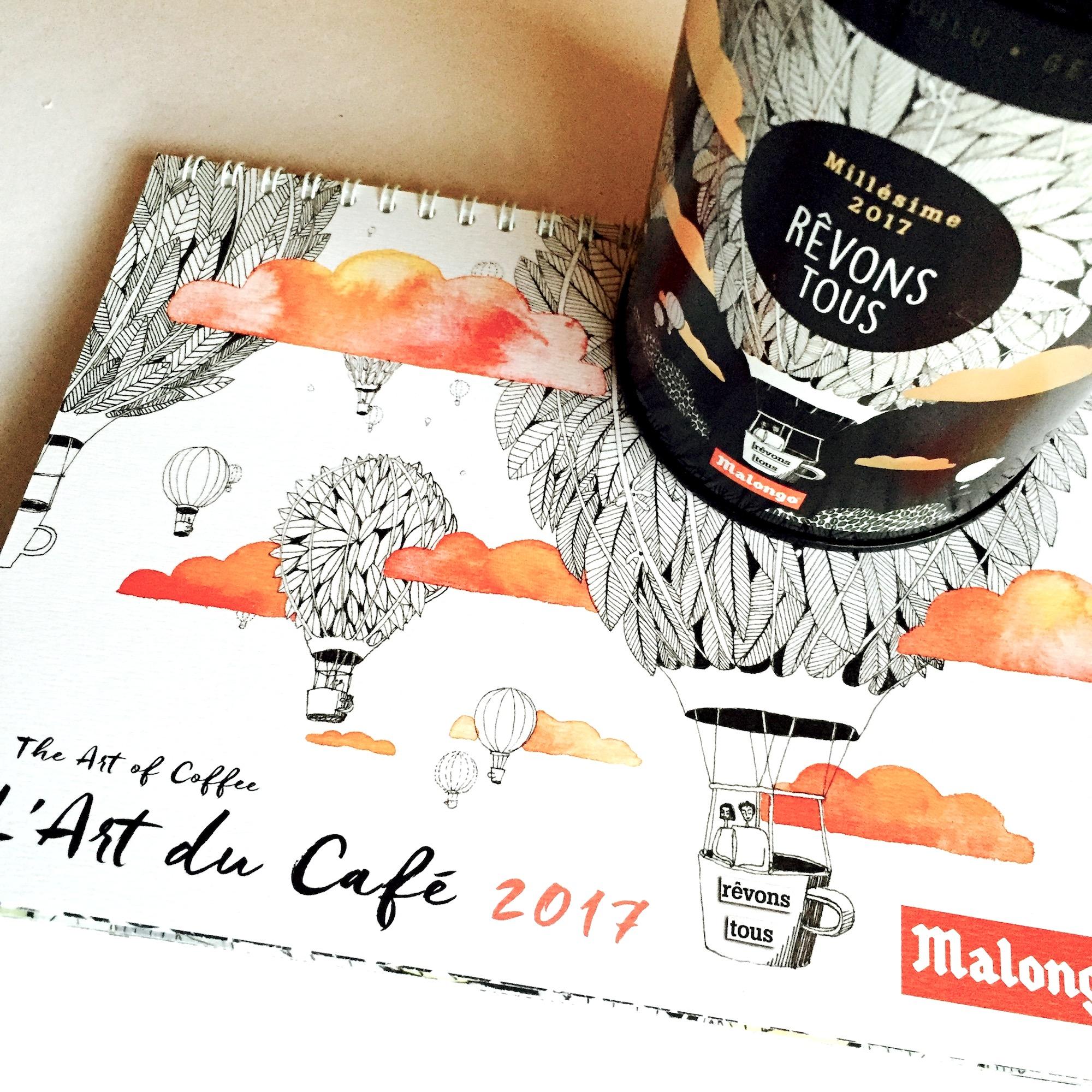 MALONGO CAFE COLLABORATION 2017
