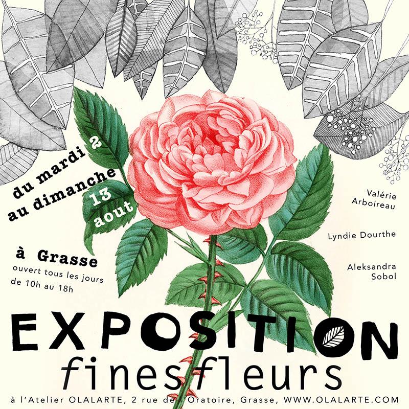 FINES FLEURS CREATIONS – EXPOSITION