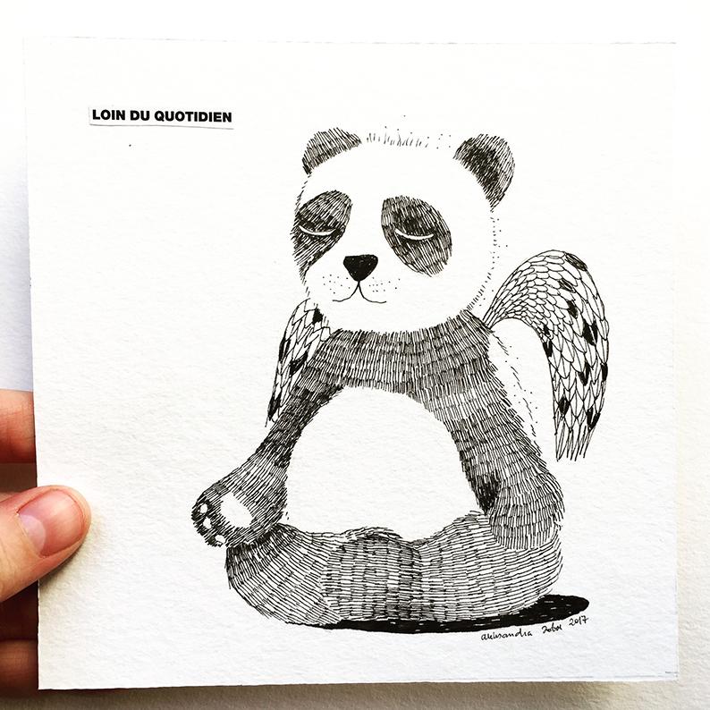 ILLUSTRATION – PANDA
