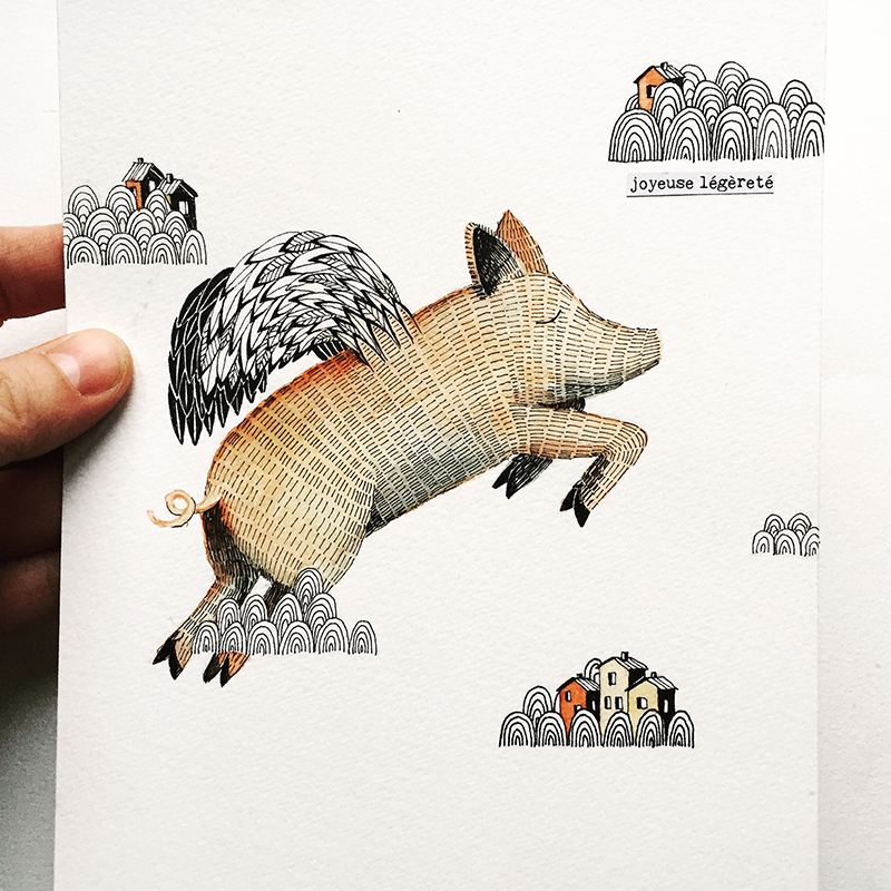 ILLUSTRATION – COCHON